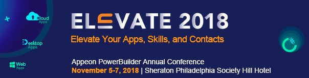 Elevate 2018 – Annual PowerBuilder Conference Last Call