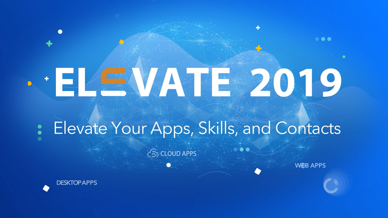 Editorial – Elevate 2019 Report