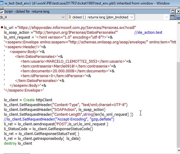 HTTP Client (SOAP) lo_client GetResponseStatusCode() returns 400